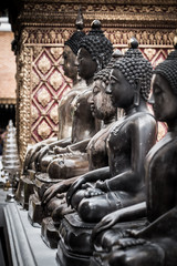 Buddha in Wat Phra That Doi Suthep, Chiang Mai, Thailand