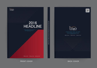 Vector design for Cover Report, Brochure, Flyer, Poster in A4 size
