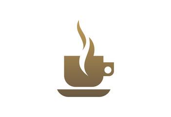 Coffe Cup Logo Vector