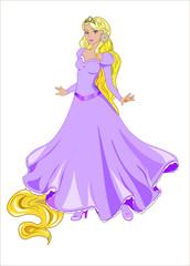 Garden Poster Rapunzel