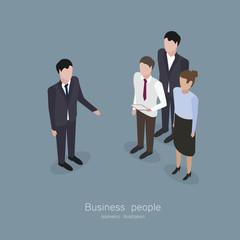 Business boss man