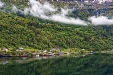 Landschaft Reisen Meer Norwegen