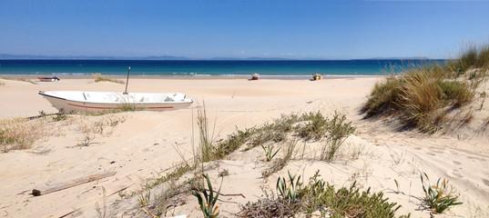 Playa de Bolonia, Costa de la Luz, Andalusien, Spanien