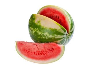 Half and segment watermelon