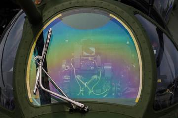 Rainbow Mi-24 windshield