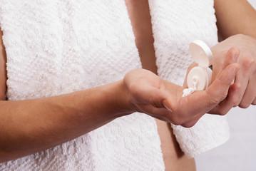 male hand cream