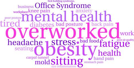 Overworked Word Cloud