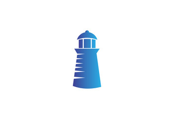 Lighthouse classic design template logo