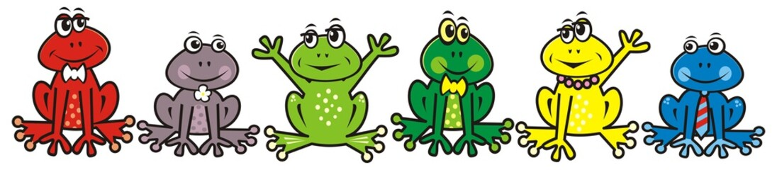 group of frogs