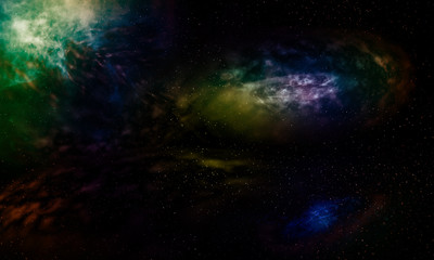 Galaxies beautiful fantasy.