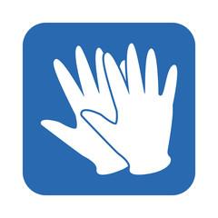 rubber glove icon