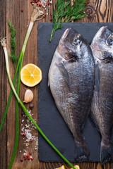 Fresh sea fish