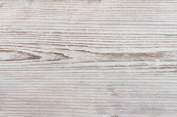 Wood Grain Texture, White Background of Grained Plank