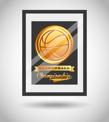 basketball championship design
