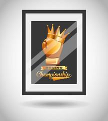 boxing championship design