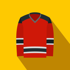 Hockey uniform flat icon