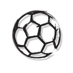 Soccer Ball easy all editable