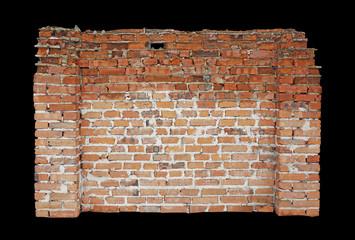 Part of old brick wall