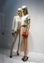 Elegant female mannequins