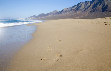 Fuerteventura, Canary Islands, Cofete beach