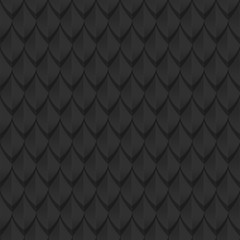 Black dragon scales seamless background texture