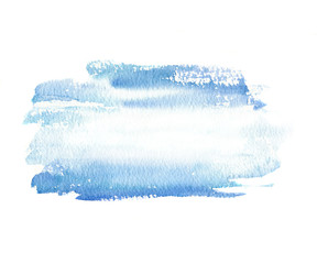 Printed roller blinds Fantasy Landscape Abstract watercolor background