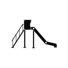 Playground slide icon