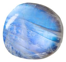 tumbled blue moonstone (adularia) mineral gem