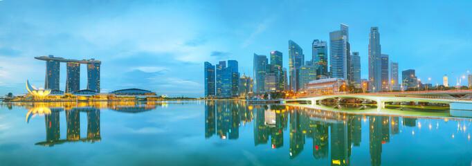 Foto auf Acrylglas Singapur Marina bay of Singapore
