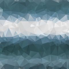 Multicolor polygonal illustration. Geometric background. Triangular design in vector.