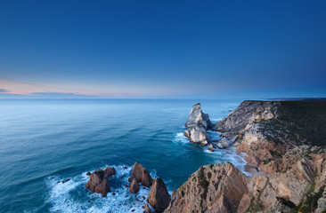 The cliffs of Cabo da Roca, Portugal.