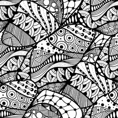 abstract doodle background