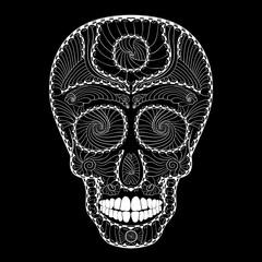Dia de Muertos Tattoo Skull Day of The Dead Full