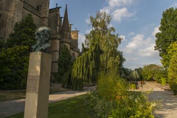 Jardins de l'Évêché à Limoges (Haute-Vienne) - Jardin botani