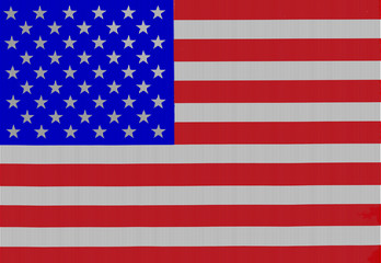 America national flag pattern overlay