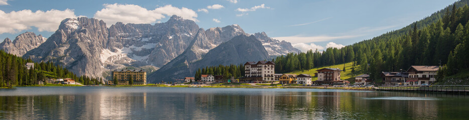 Misurina lake, Dolomites