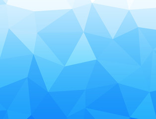 Geometrix Blue ocean texture background.