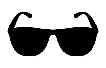 Sunglasses / shades protective eyewear flat icon for apps and websites