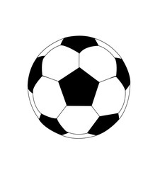 high quality isolated soccer ball