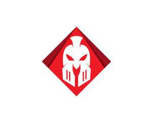 Gladiator mask logo security