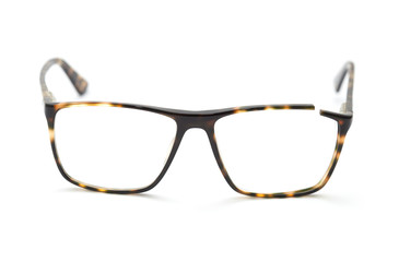glasses with broken frame
