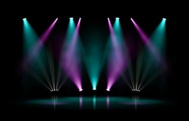 Scène et projecteurs vectoriels 1