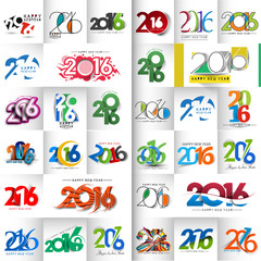 Happy New Year 2016 Text
