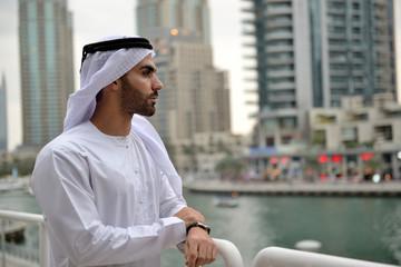 Young Emirati arab man