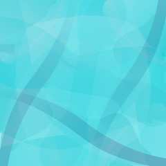 Abstract turquoise geometric vector background