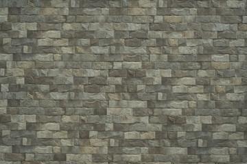 Modern brick wall as background.