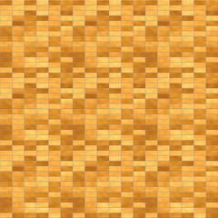レンガ(明るいブラウン、しっかり境界面)/1000px四方のシームレス素材を繰り返しています。表面の模様に濃淡をつけています。レンガブロックの境界面をくっきりとさせています。