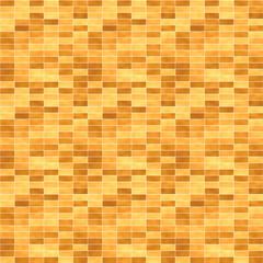 レンガ(明るいブラウン)/1000px四方のシームレス素材を繰り返しています。表面の模様に濃淡をつけています。
