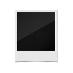 Photo frame on a white background