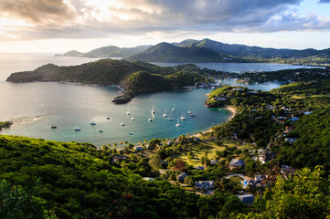 Sunset at English Harbor, Antigua and Barbuda